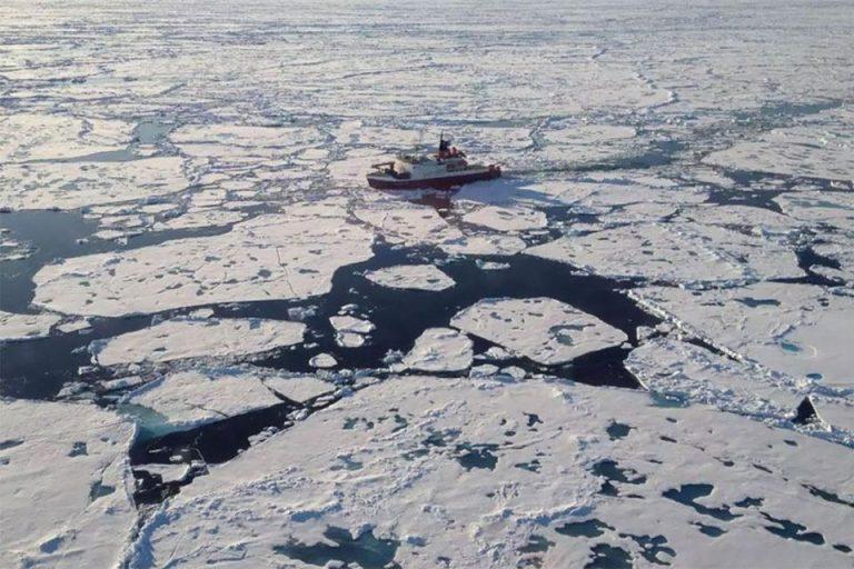 Advierten que el hielo marino ártico se redujo un 20%