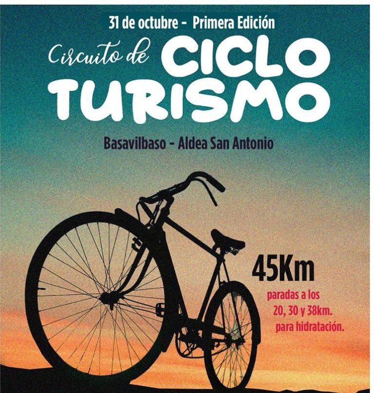 Se viene la primera edición del Circuito de Cicloturimo entre Basavilbaso y la Aldea San Antonio.