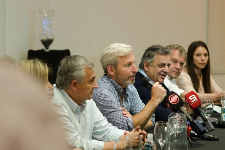 """Morales y Negri apoyaron la lista de Frigerio: """"Creemos que va a haber un gran triunfo en Entre Ríos"""""""